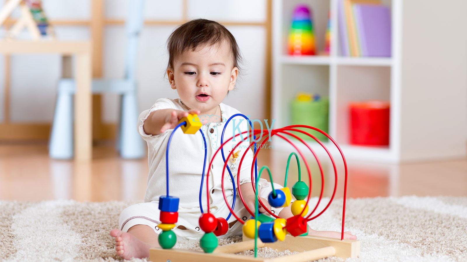 Protingas mažylis: 100 idėjų kaip lavinti kūdikį nuo 0 iki 2 metukų