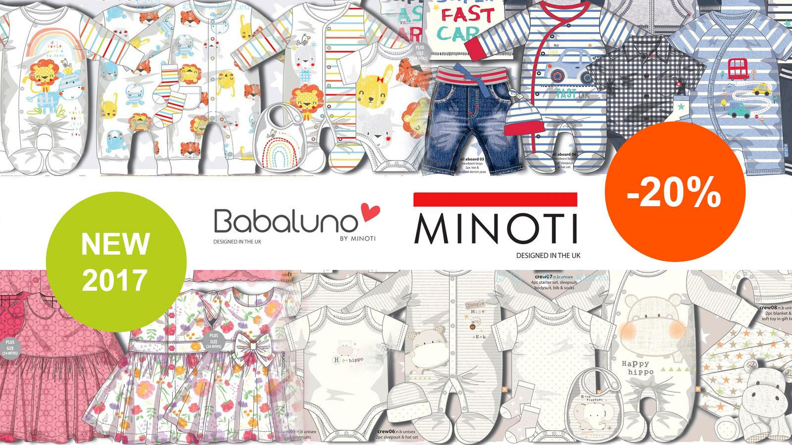 Nauja kolekcija MINOTI pavasaris/vasara 2017