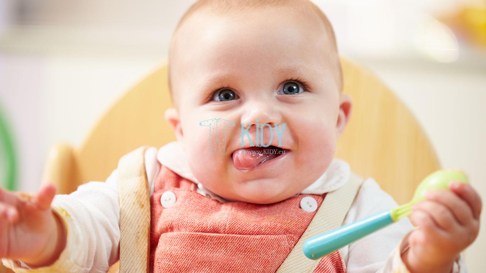 Kaip išmokyti vaiką valgyti savarankiškai?