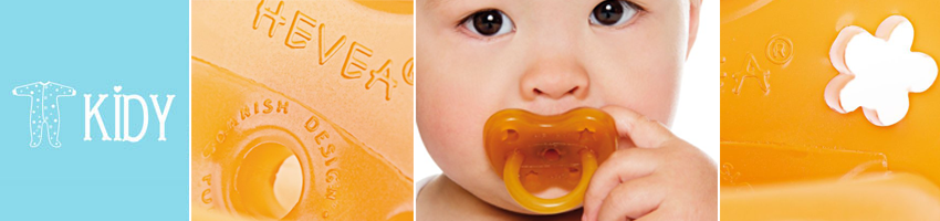 HEVEA PLANET 100% Natural Rubber Safe Pacifiers