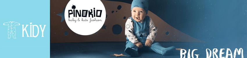 Pinokio BIG DREAM collection for baby boys