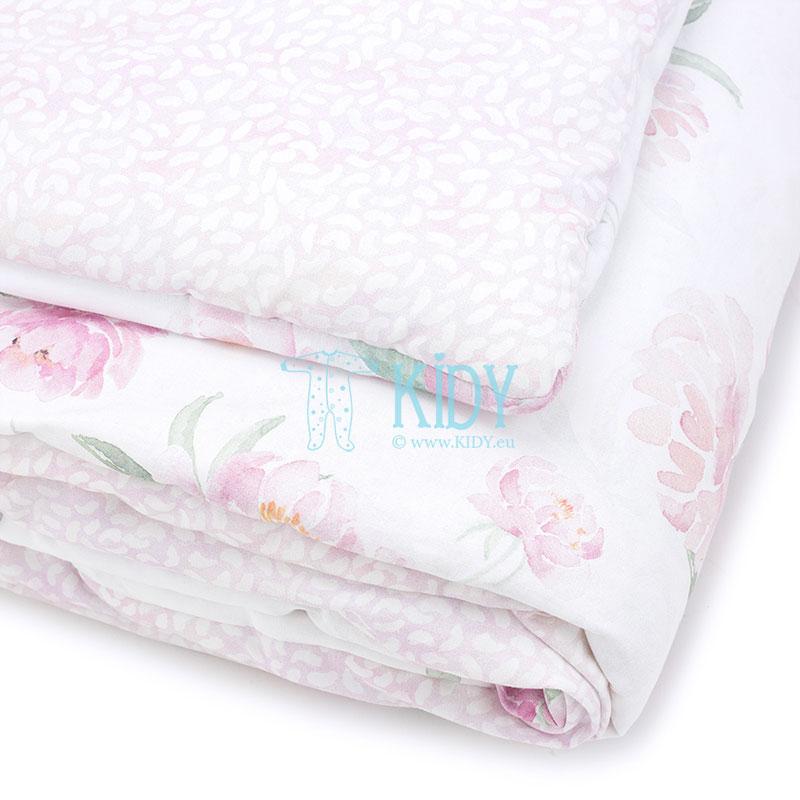 Patalynės komplektas Peonie: antklodė + pagalvė (MAKASZKA) 10