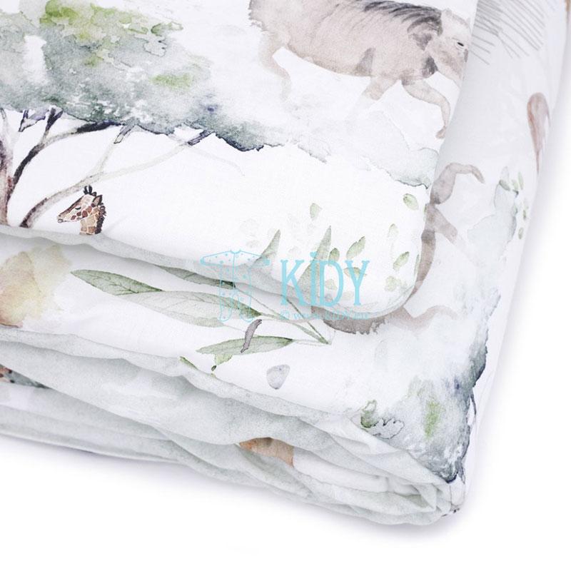 Patalynės komplektas Sawanna: antklodė + pagalvė (MAKASZKA) 10