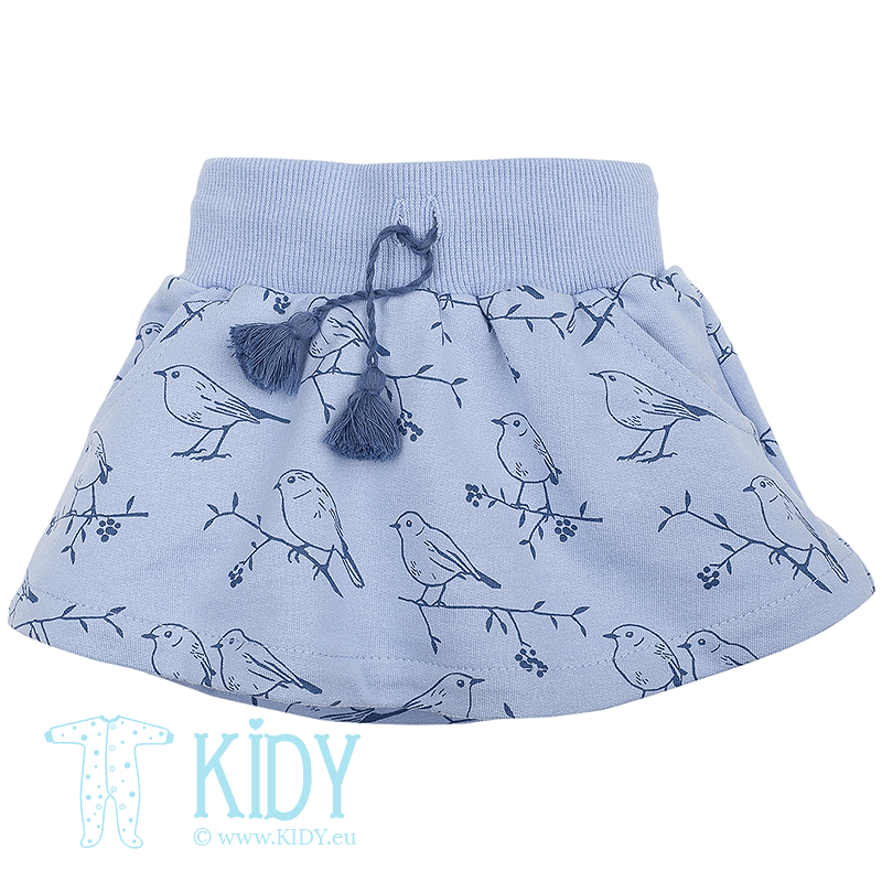 Blue skirt MARTINET