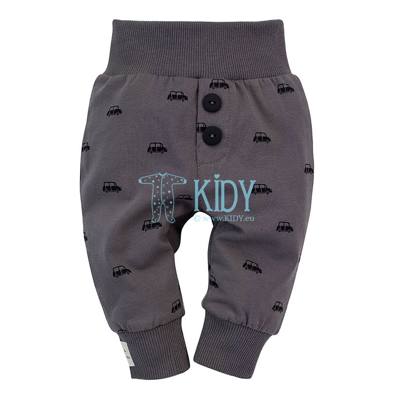 Grey LITTLE CAR pants
