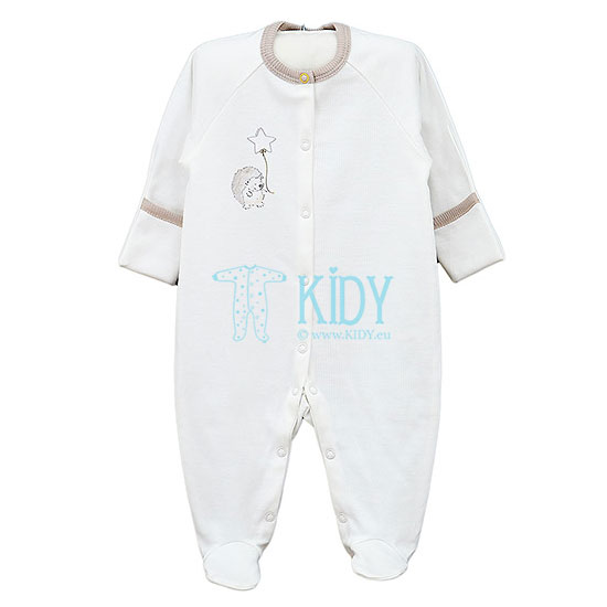 White POOKY sleepsuit