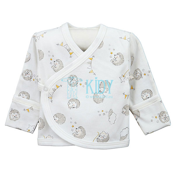 White POOKY easy-shirt with mitts