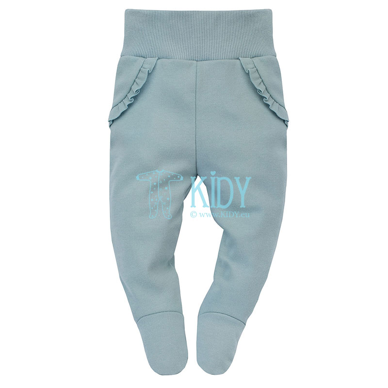 Mint MY GARDEN footed pants