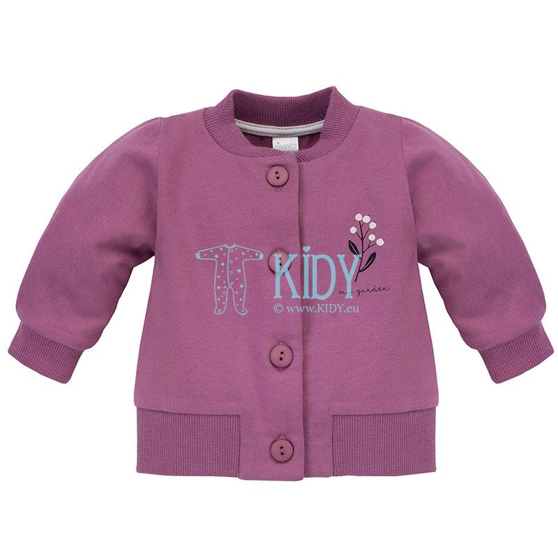 Rožinis džemperis MY GARDEN
