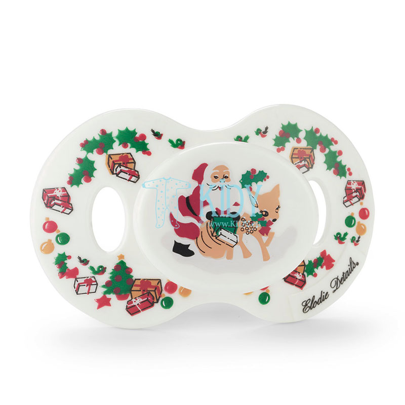 Orthodontic Oh Deer Santa pacifier