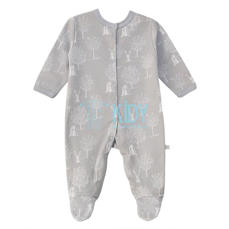 Grey RONNY sleepsuit