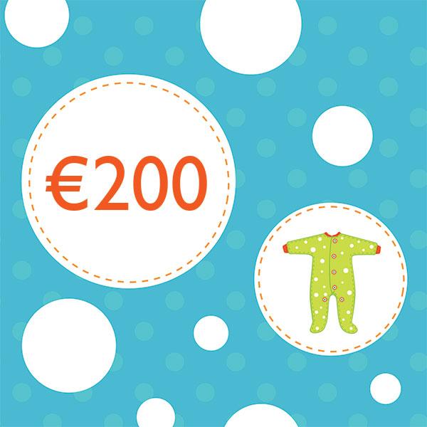Подарочный купон на €200