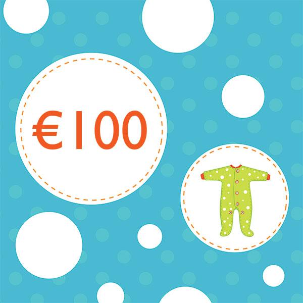 Подарочный купон на €100