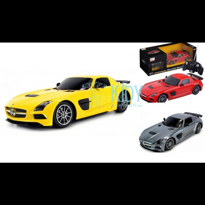RASTAR automodelis valdomas Mercedes-Benz SLS AMG 1:18, 54100