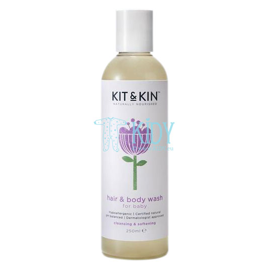 Baby shampoo & body wash naturally nourished