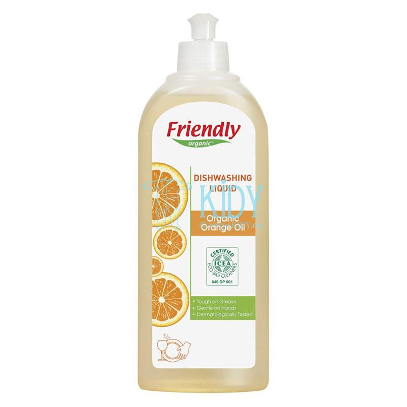Liquide vaisselle à l'huile d'orange biologique