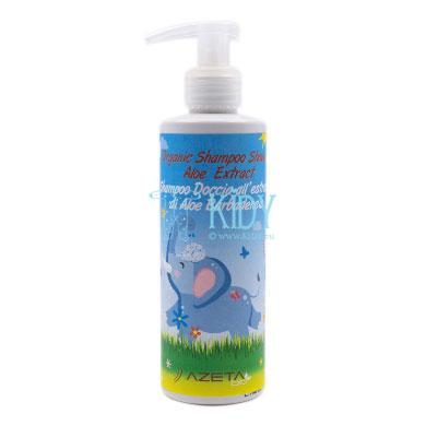 Organinis šampūnas ir kūno prausiklis su Aloe Vera