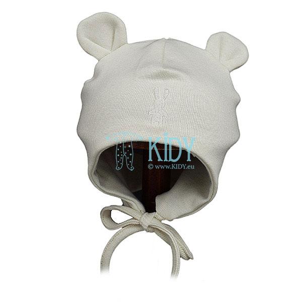 Kreminė kepurė MIMI