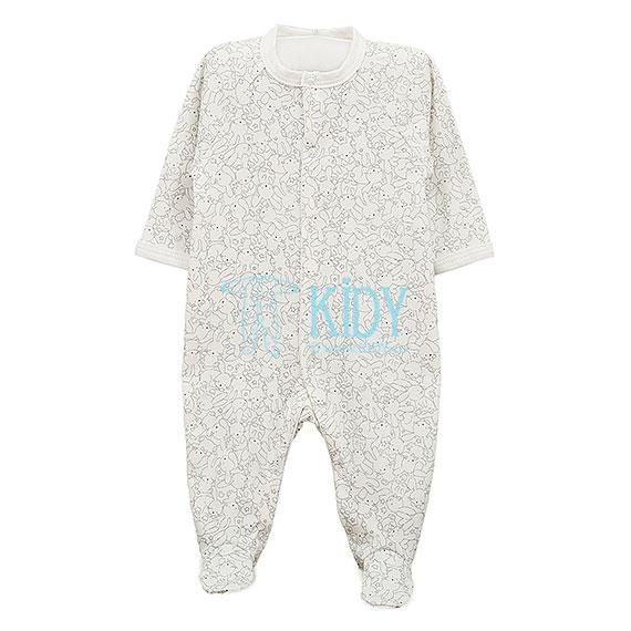 Ekru kombinezonas-pižama MINI