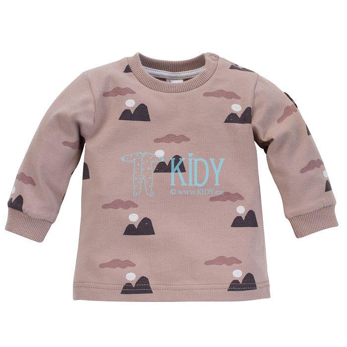 Smėlio spalvos marškinėliai DREAMER