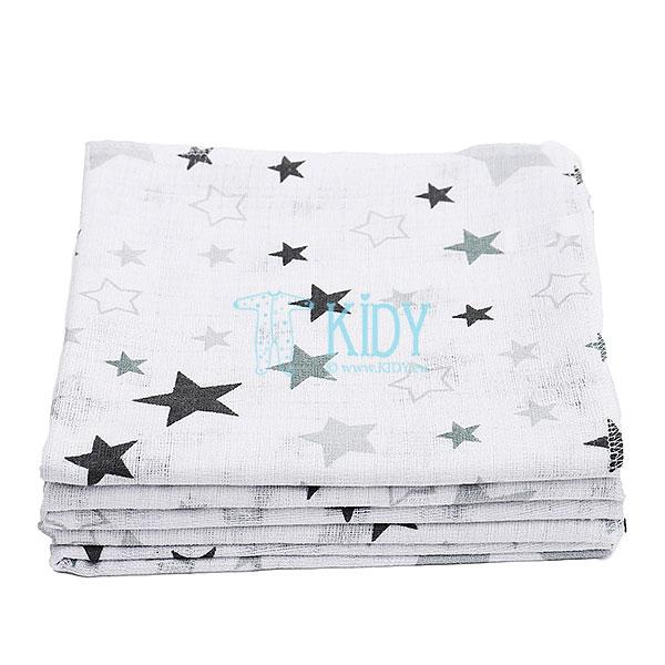 Муслиновая пеленка STARS