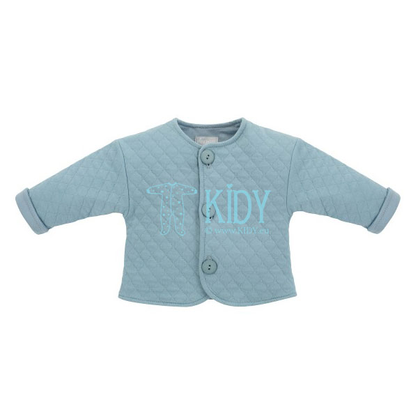 Zils džemperis SLOW LIFE