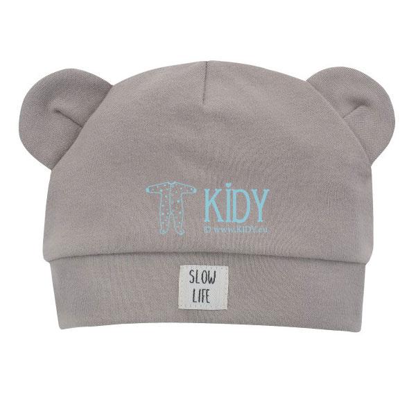 Smėlio spalvos kepurė SLOW LIFE