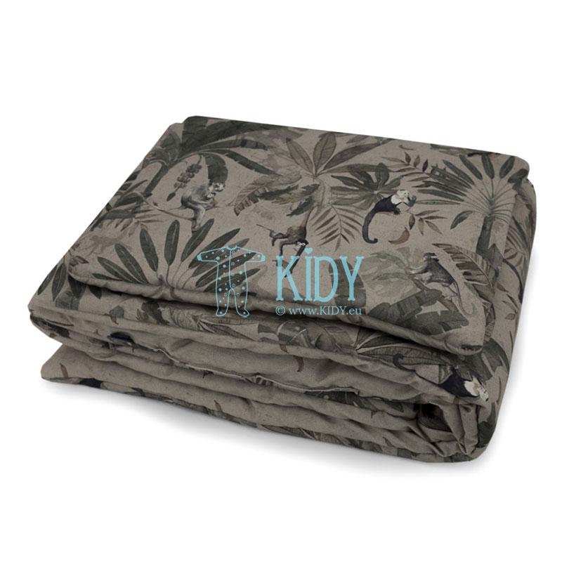Patalynės komplektas Monkeys: antklodė + pagalvė