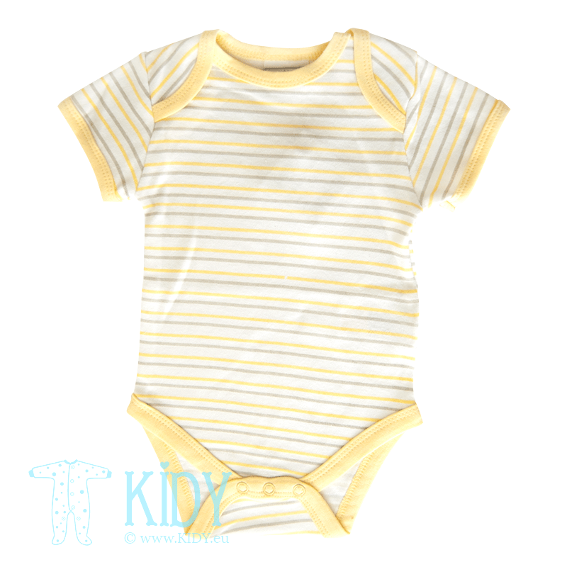 Yellow bodysuit LITTLE TWEETY (Aardvark)