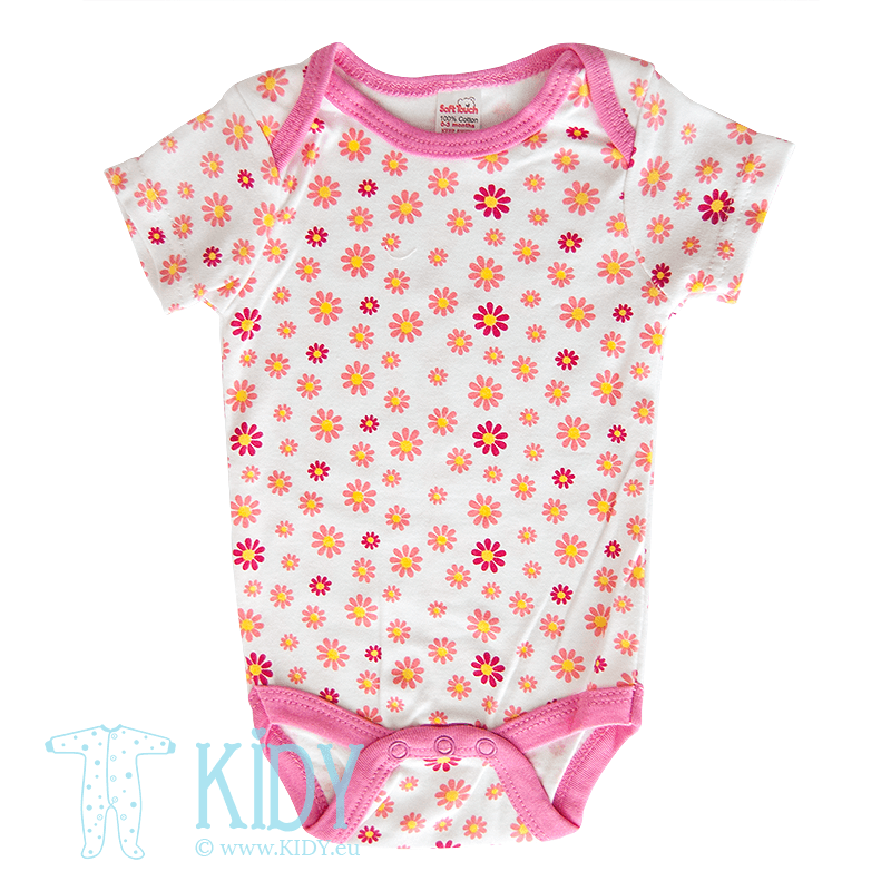 Pink bodysuit CUTE LIKE MUMMY (Soft Touch)