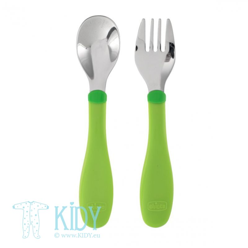 Stainless steal cutlery (Chicco)