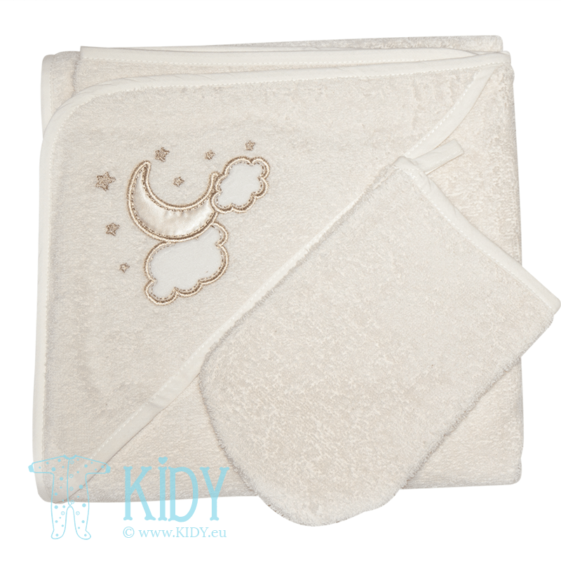 Hooded towel LUNA ELEGANT
