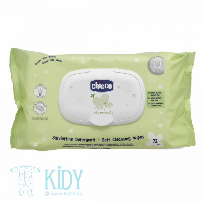 Cleansing wipes BABY MOMENTS