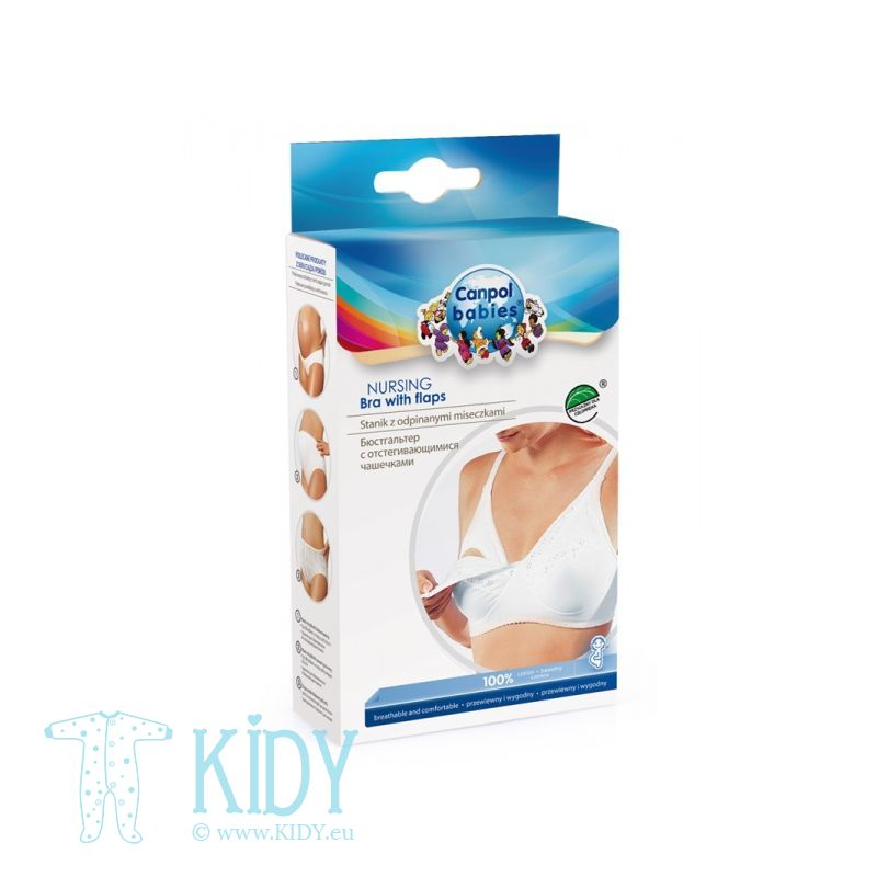 Canpol Babies nursing bra Lux, 85C size, 26/761