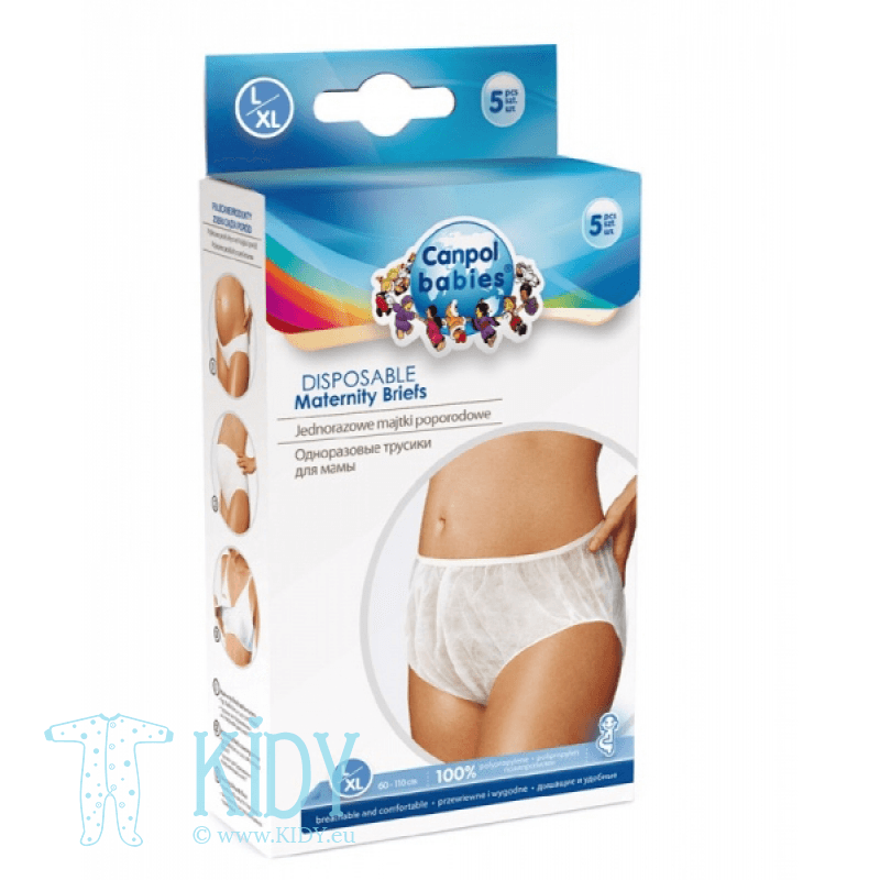 Disposable maternity briefs (Canpol Babies)
