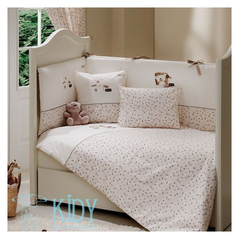 Bedding set MY BEAR: 3 parts (FunnaBaby)