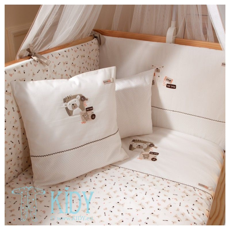 Bedding set MY BEAR: 4 parts (FunnaBaby)