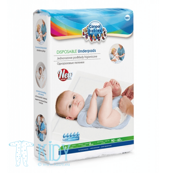 Disposable Underpads (Canpol Babies)