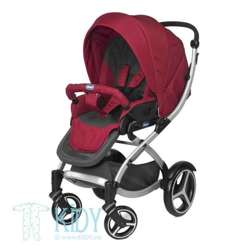 Baby stroller ARTIC Complete GARNET