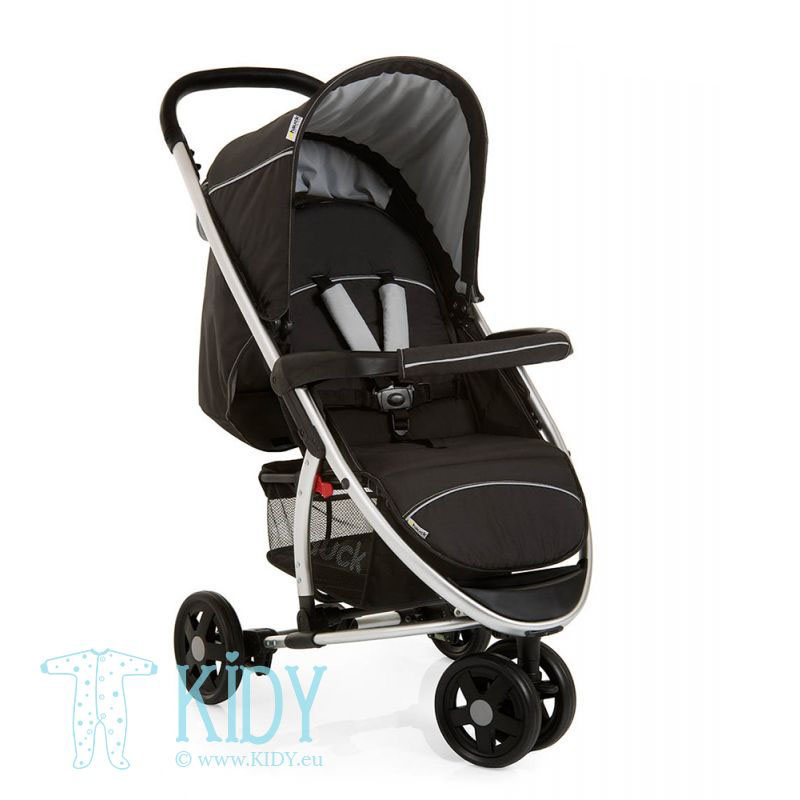 Baby stroller Miami 3 Caviar/Silver