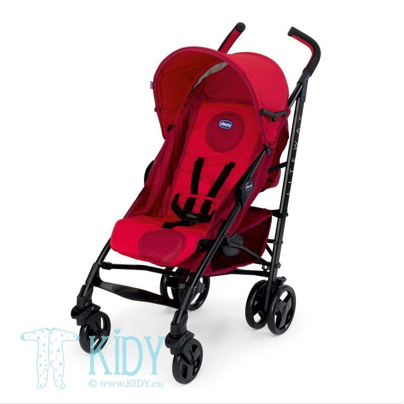 Прогулочная коляска Stroller Lite Way Red