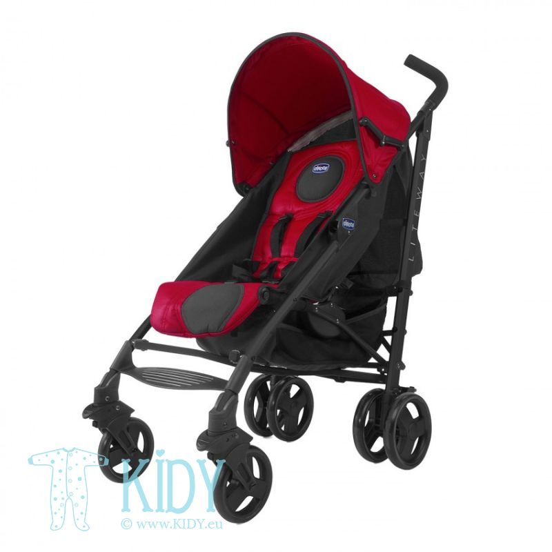 Baby stroller Lite Way Red Wave