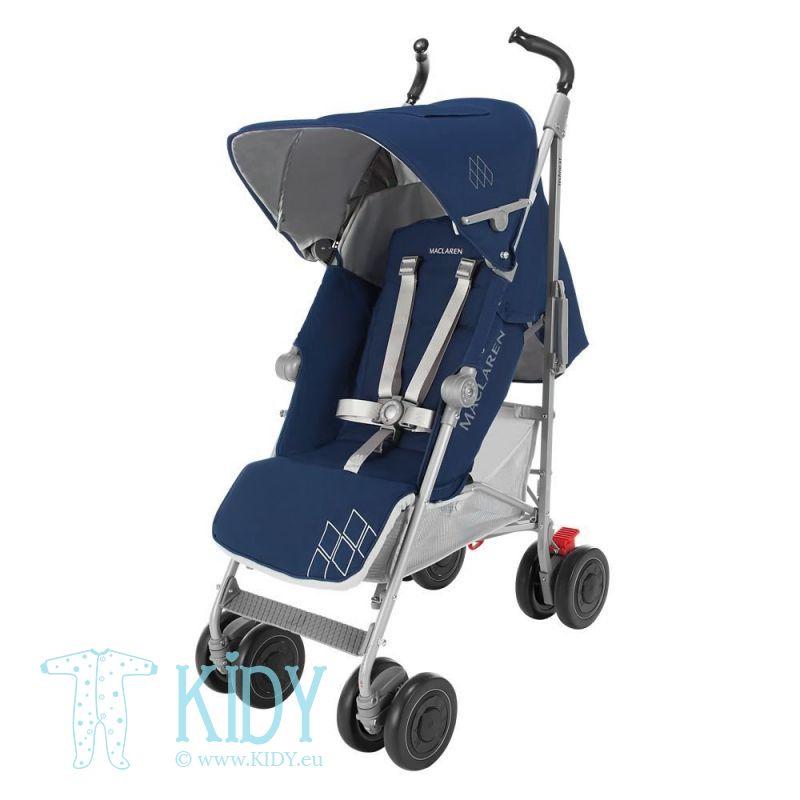 Baby stroller Techno XT Medieval Blue/Silver