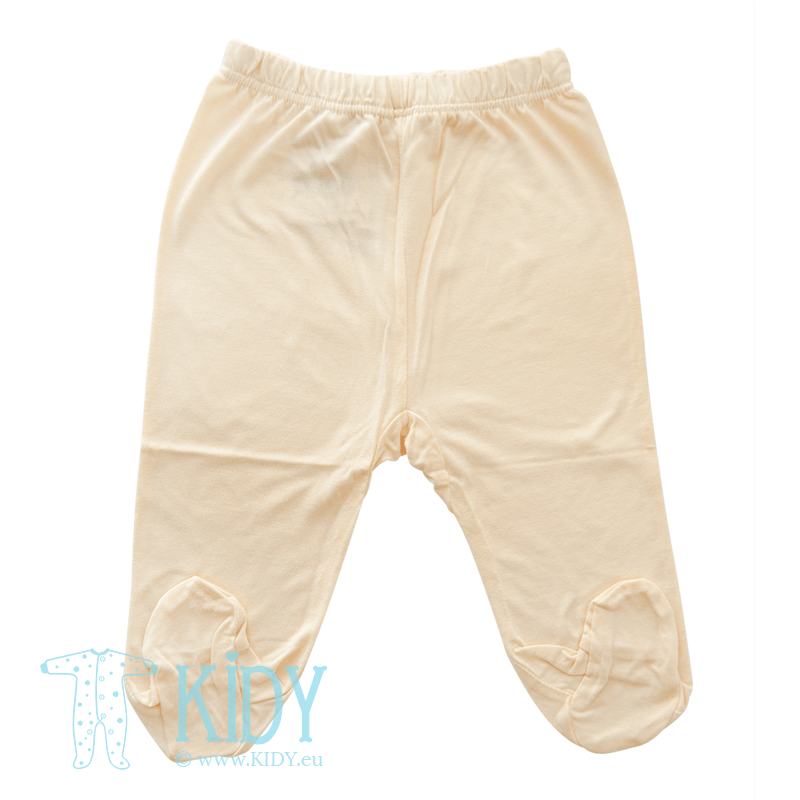 Beige pants PIPSI KOALA with feet (Lorita)