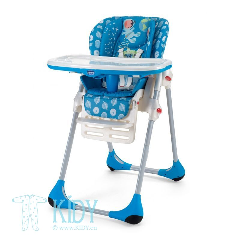 Polly High Chair Double Phase 2 in 1 Moon