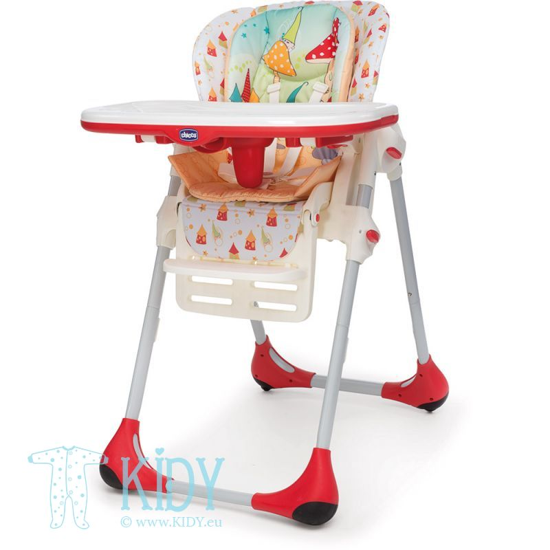 Polly High Chair Double Phase 2 in 1 Timeless