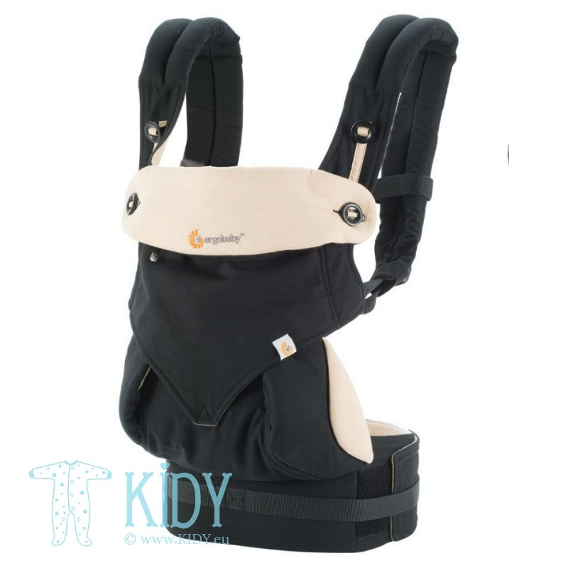 Nešioklė ALL POSITION 360 Black/Camel (ErgoBaby)