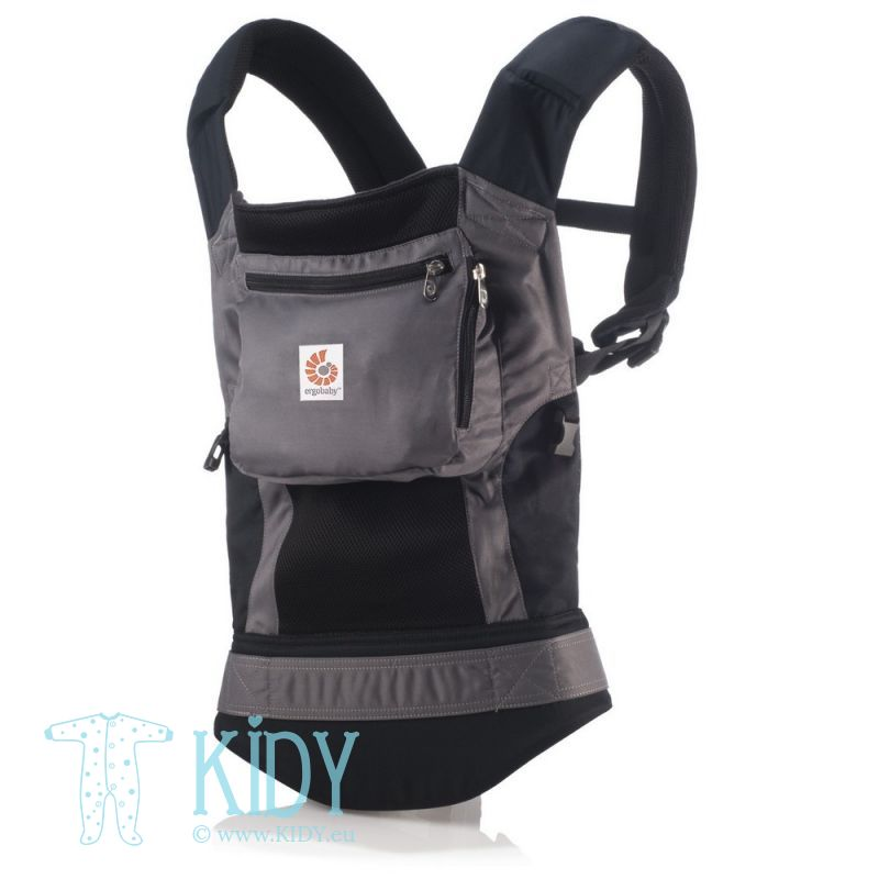 Nešioklė ORIGINAL Performance Charcoal Black (ErgoBaby)