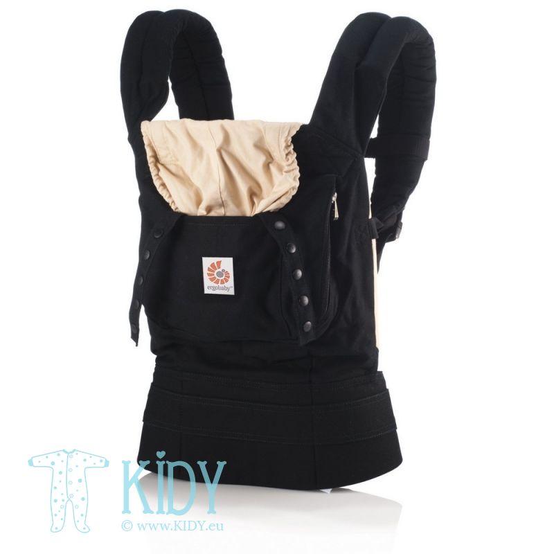 Nešioklė ORIGINAL Black/Camel (ErgoBaby)
