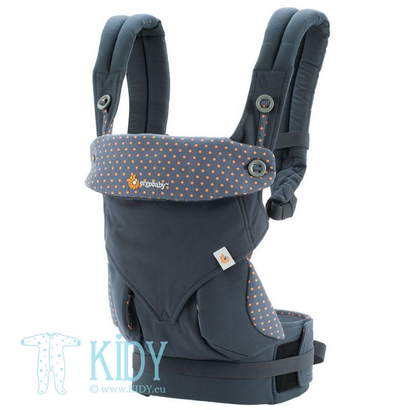 Рюкзак ALL POSITION 360 Dusty Blue (ErgoBaby)